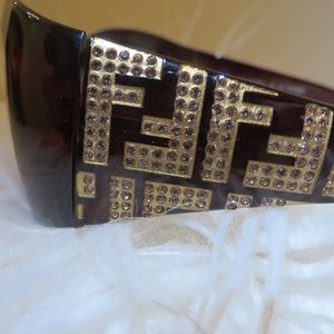 Fendi Crystal Sunglasses (USED)